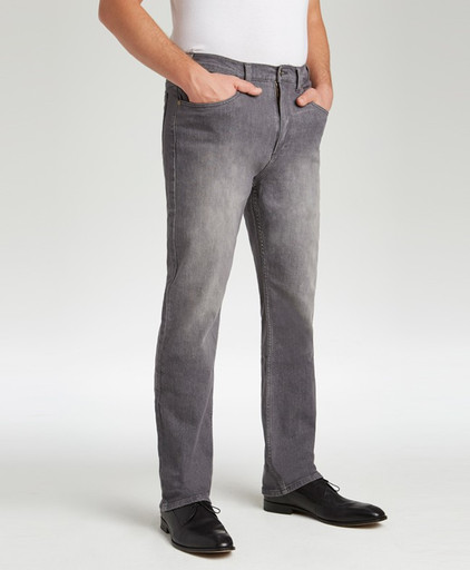 200 Grey Stretch Jean, Traditional Fit