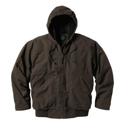 337.27 Premium Fleece Lined Hooded Jacket