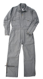 995.18 Deluxe Unlined Coverall, Zipper to Knee, Long Sleeve