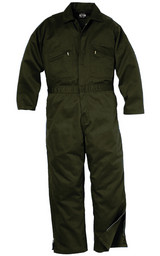995.31 Deluxe Unlined Coverall, Zipper to Knee, Long Sleeve