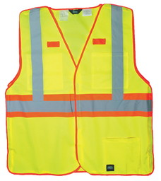 99.39 ANSI II Class 2 Hi-Vis Break-A-Way Solid Vest