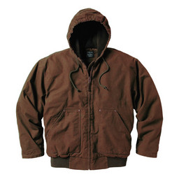 337.28 Premium Fleece Lined Hooded Jacket