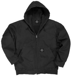 376.07 Premium Insulated Fleece Lined Hooded Jacket