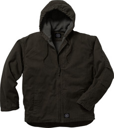 334.27 Premium Berber Lined Hooded Jacket