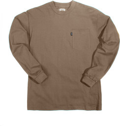860.24 Heavyweight Pocket T-Shirt - Long Sleeve