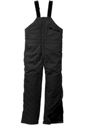 275.01 Insulated Duck Bib Overall, Hip Zip