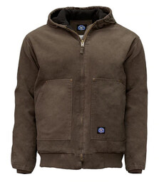 376.27 Premium Insulated Fleece Lined Hooded Jacket