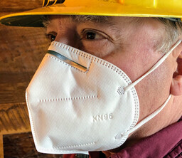 LSK2020-2 KN95 3D Protective Mask - Non-Returnable