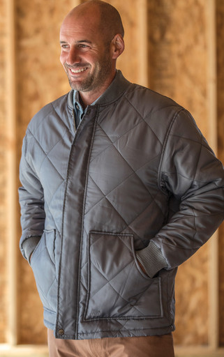 303.03 Montana Jacket - Men's Diamond Quilted
