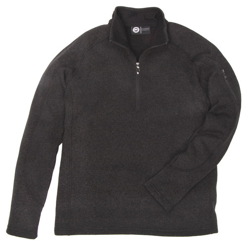 886.03 Men's Quarter Zip Sweater Knit Pullover