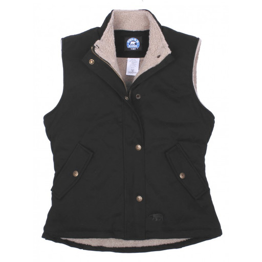 32.07 Berber Lined Quilted Vest