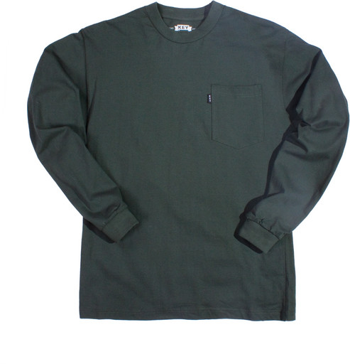 860.36 Heavyweight Pocket T-Shirt - Long Sleeve