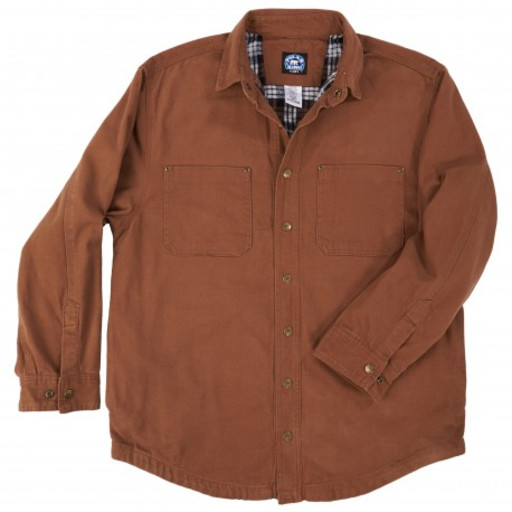 554.28 Flannel Lined Shirt Jac