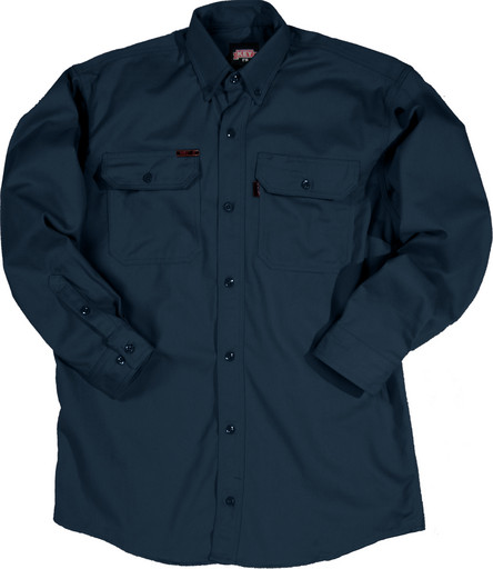 564.41 FR Button-Up Twill Shirt, Long Sleeve