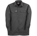 147CHA Twill Long Sleeve Work Shirt with Button Closure