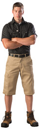 3249KAK Heavy Duty Twill Cargo Work Short