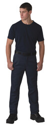 3147NAY Poly-Quilt Lined Twill Work Pant
