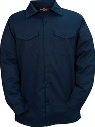 TX231US7NAY FR HRC2 Westex Ultrasoft 7 oz Twill Work Shirt