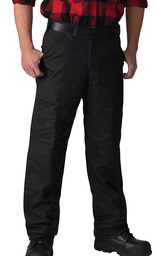 338BLK Poly-Quilt Lined Heavy-Duty Nylon Pant