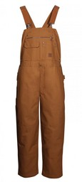 CD1884BRN Duck Premium Bib Overall (Unlined)