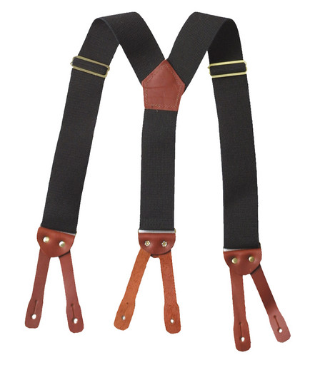 SUSPBBLK Button Suspender