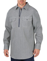 WL380HS Relaxed Fit Long Sleeve Half Zip Logger Shirt