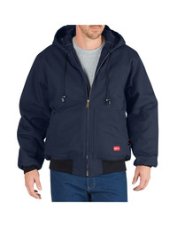 RJ711NV Flame Resistant Insulated Duck Jacket With Hood