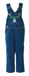 11905DB9 Preschool Denim Bib Overall