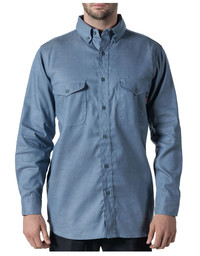 56388CY9 FR Button Down Chambray Work Shirt