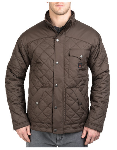 YJ292DA9 Brownwood - Ranch Quilted Jacket