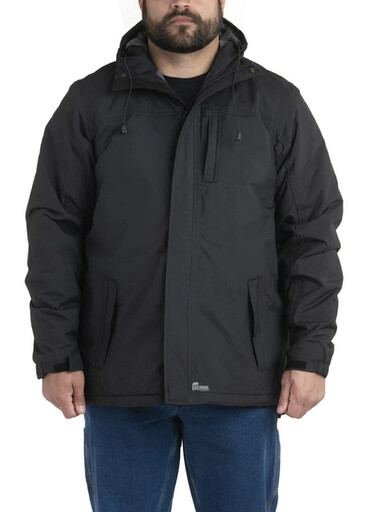RJ27BK Coastline Waterproof Rain Jacket