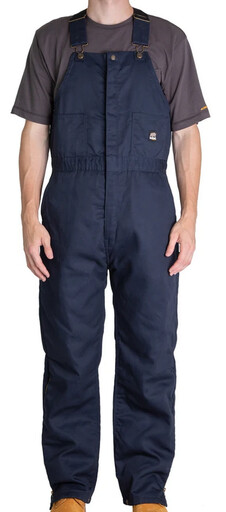 B414NV Deluxe Twill Insulated Bib Overall