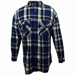 5901.7B Metal Snap Front Flannel Shirt